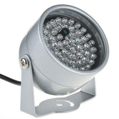 2pcs IR Infrared Vision Light Security CCTV