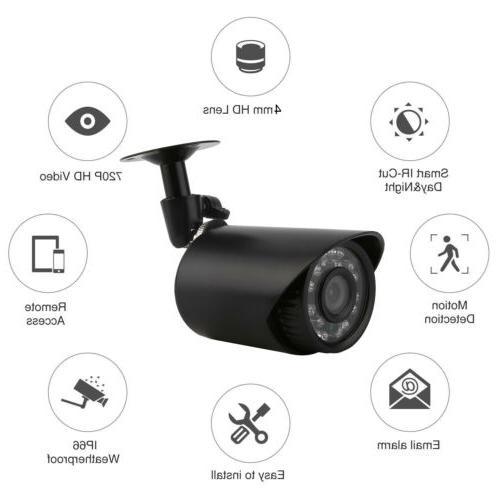 4CH Home CCTV DVR 4 Detect lot