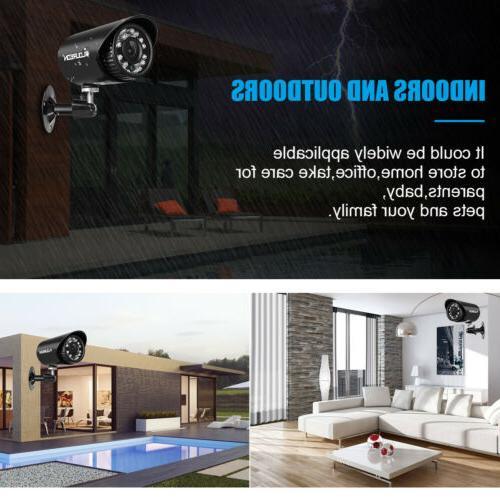 4CH 1080N Home Camera System CCTV DVR Detect