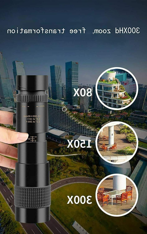 4K 10-300X40mm Super Zoom Night