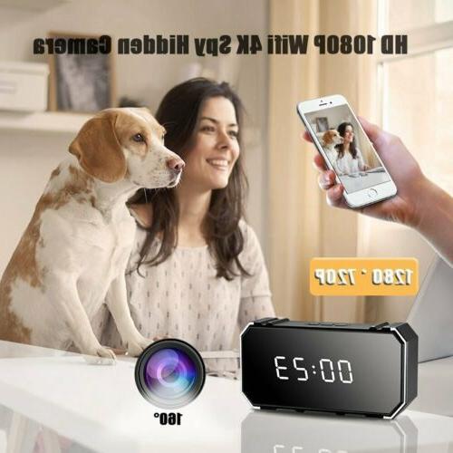 4K 1080P Wifi Spy Hidden IR Motion Surveillance Vision Security Camera