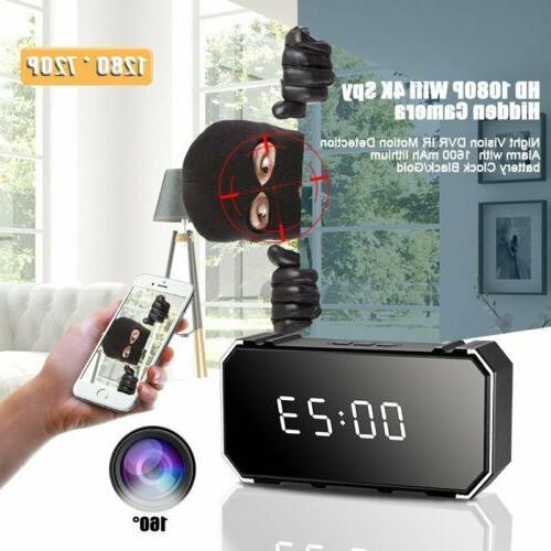4k 1080p wifi spy hidden dvr ir