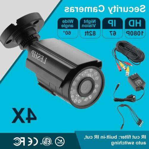 4pcs Full HD Bullet Security Night Vision 5IN1 MA