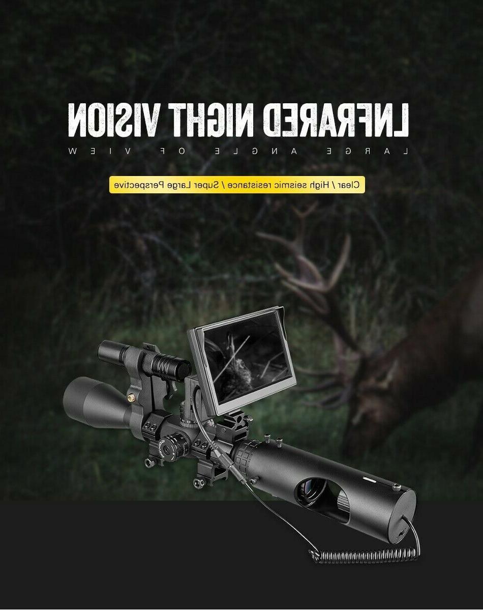 Night Camera scope screen Infrared IR