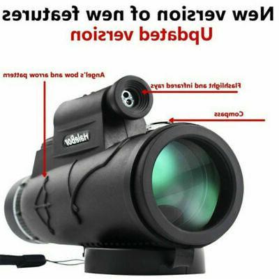 50X60 Magnification Pocket Monocular Prism Monocular Scope