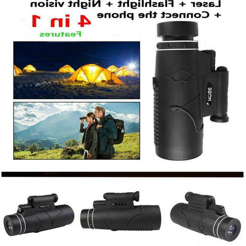 50x60 magnification pocket portable monocular night vision