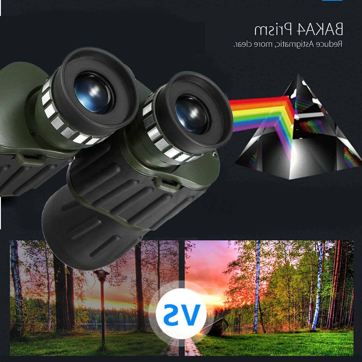 60 x 50 Day Travel Binoculars Telescope +