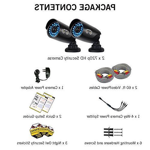 Night Owl 2-Pack 600TVL Bullet