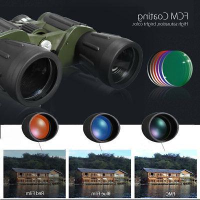 60x50 Binoculars Telescopes Camping BAK4