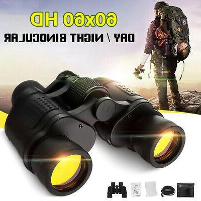 60x60 Binoculars Vision Hunting Outdoor
