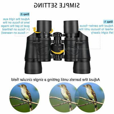 60x60 Binoculars Telescope Night Vision High Travel Hunting Outdoor