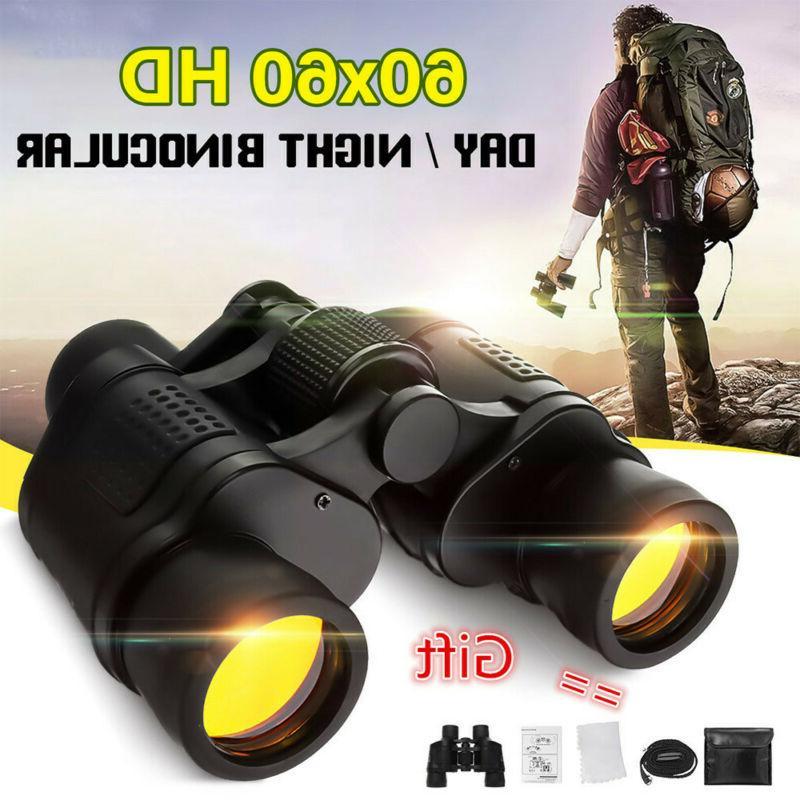 60x60 zoom binoculars day night vision travel