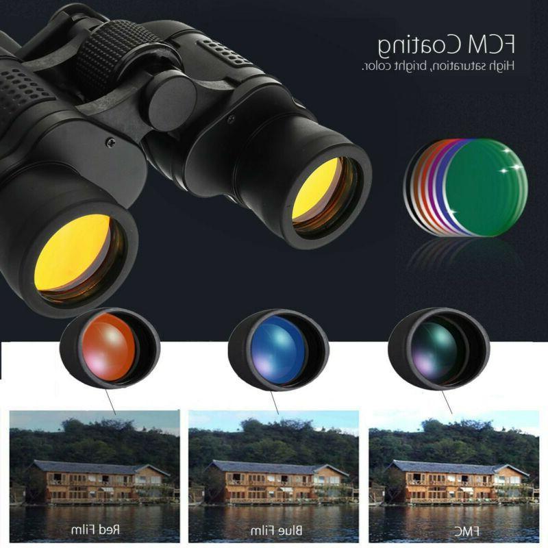 60X60 Day/Night Outdoor Telescope + Case SET