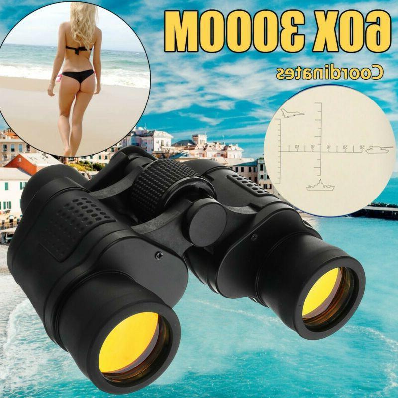 60X60 Outdoor Hunting Telescope Case SET