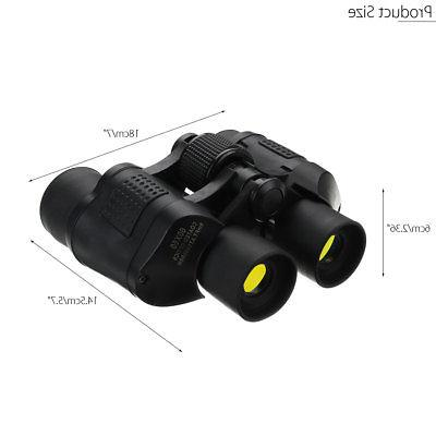 60X60 Day/Night Vision Outdoor HD Binoculars Telescope SET