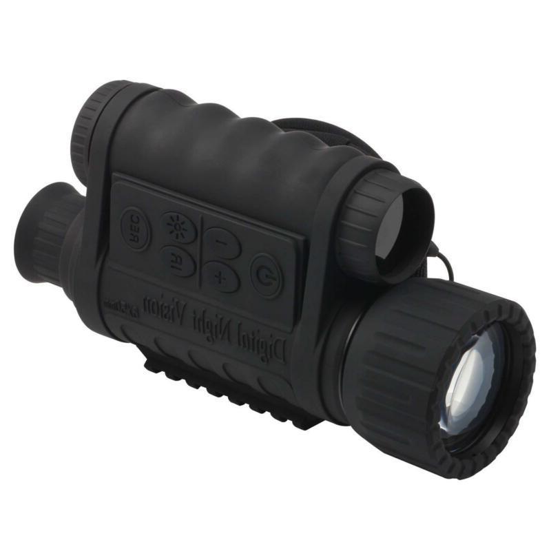 6x50mm hd digital night vision monocular