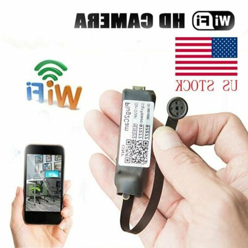 720P HD Mini Wireless WIFI IP Spy Camera Hidden Pinhole DIY