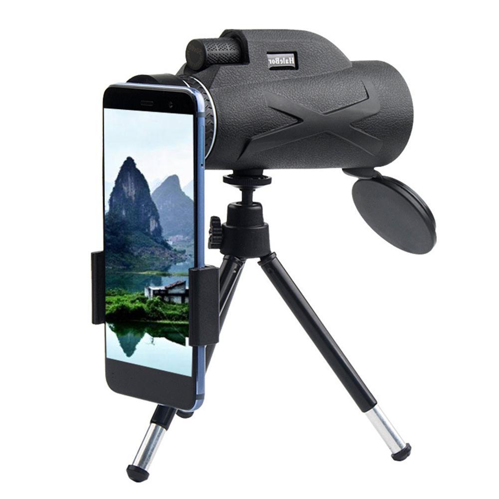 80x100 Outdoor Hunting Optical Lens <font><b>Monocular</b></font> Telescope Adjustable <font><b>Vision</b></font> HD Zoom Camping Waterproof Camera
