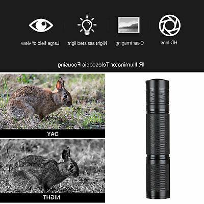 850nm LED IR Night Riflescope Scopes Optics Sight Night