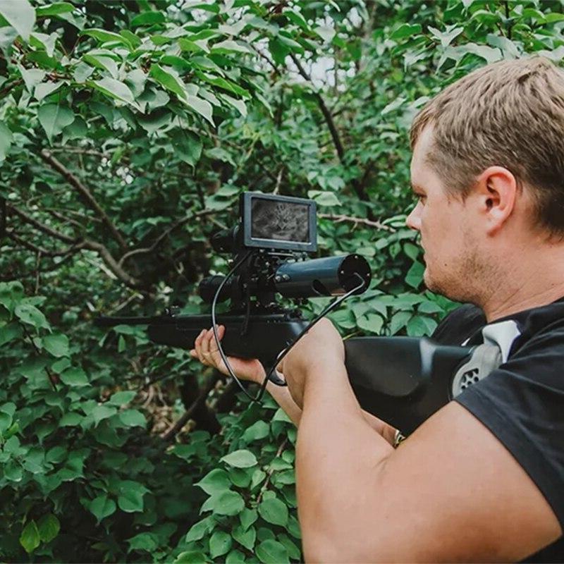 850nm <font><b>Night</b></font> <font><b>Vision</b></font> Device Sight Waterproof Wildlife Trap Cameras A
