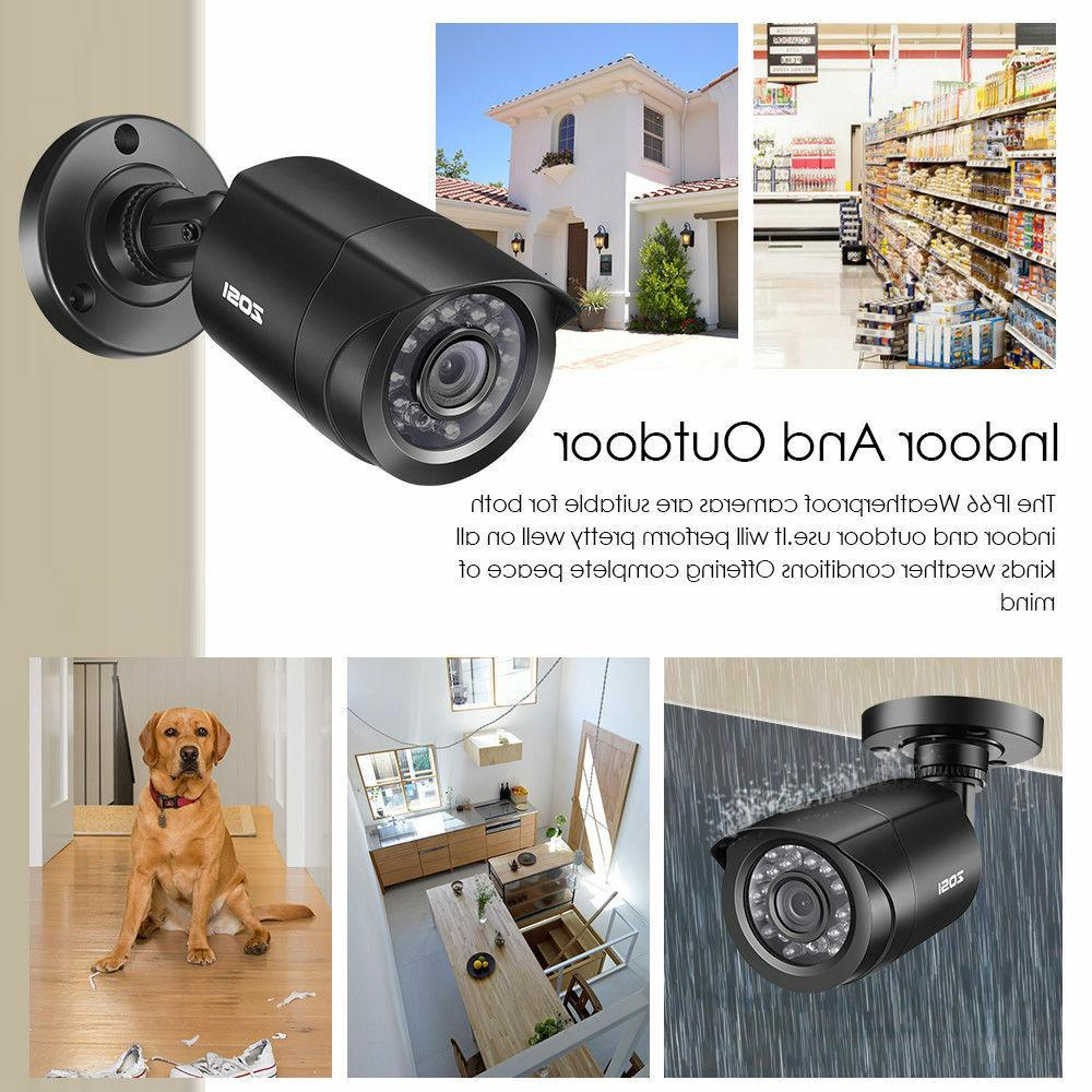 ZOSI 1080P DVR 720P Surveillance Camera 8