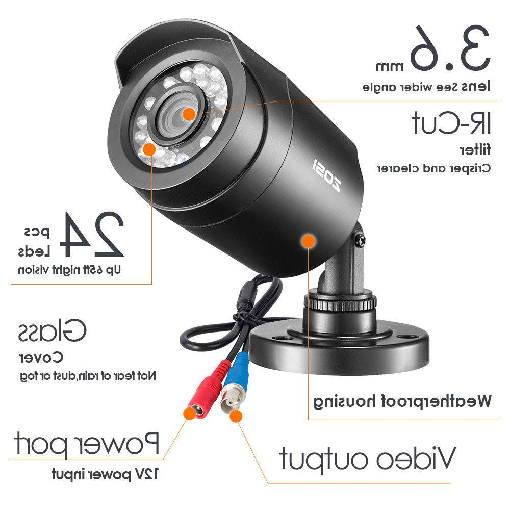 ZOSI DVR Surveillance 8 CH