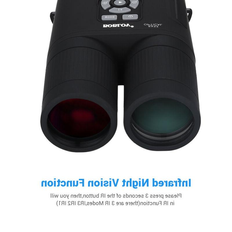 Boblov 8x52 Optical Night Vision Telescope 335PPI For