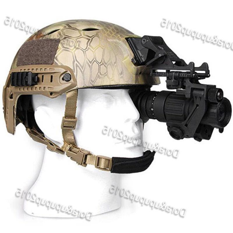 AORUEY  Helmet With Infrared Hd Night-vision Monocular Teles