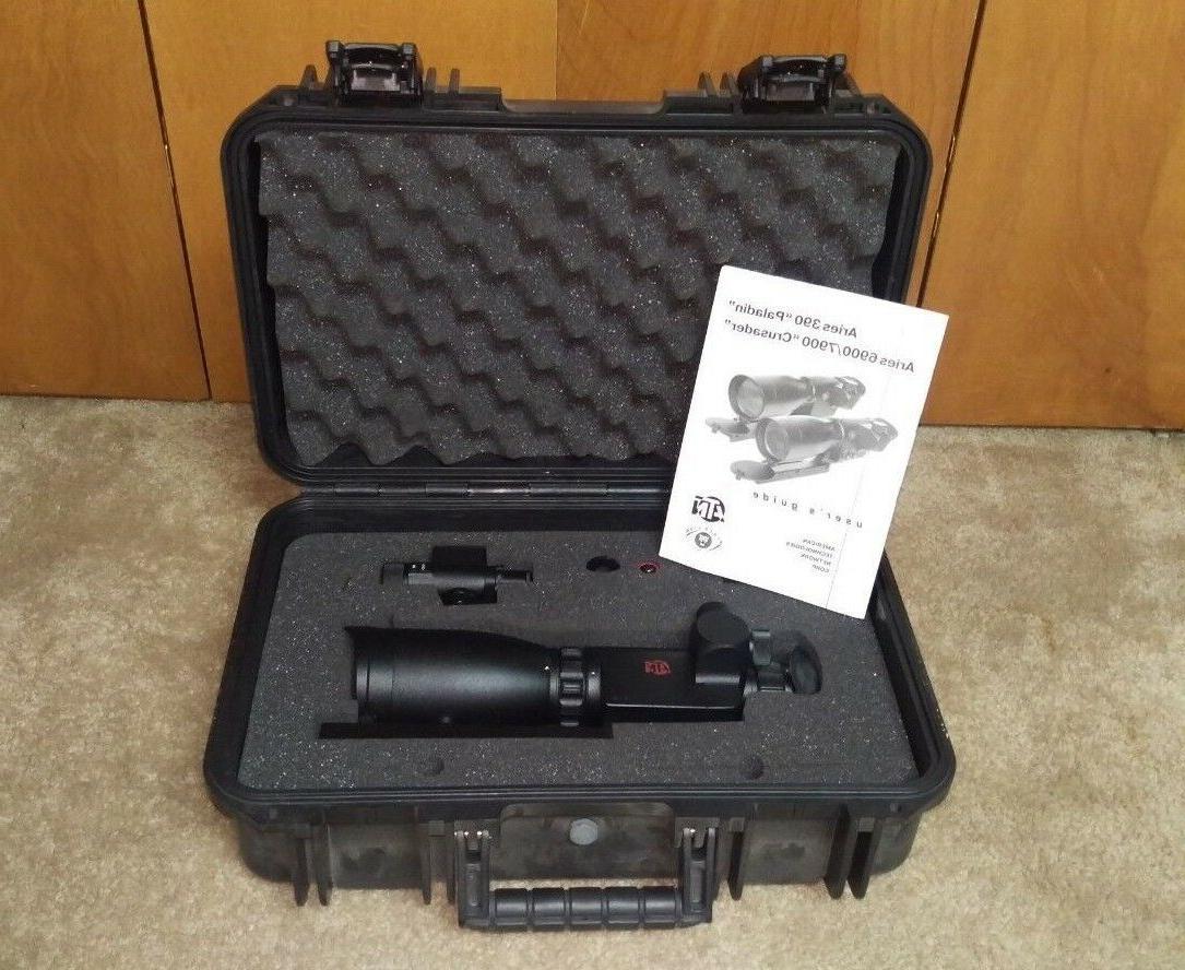 ATN Aries MK 390 Paladin Night Vision Weapon Sight NOS