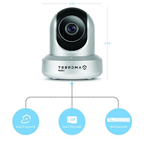 Amcrest 1080P WiFi Wireless IP Security - , Works