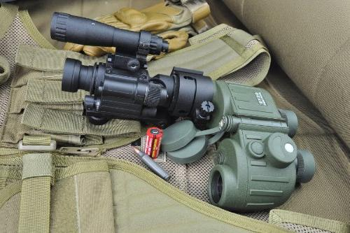 Armasight Film Less Auto-Gated Compatable to GEN 4 Night Vision Clip-On with Manual Gain, Black