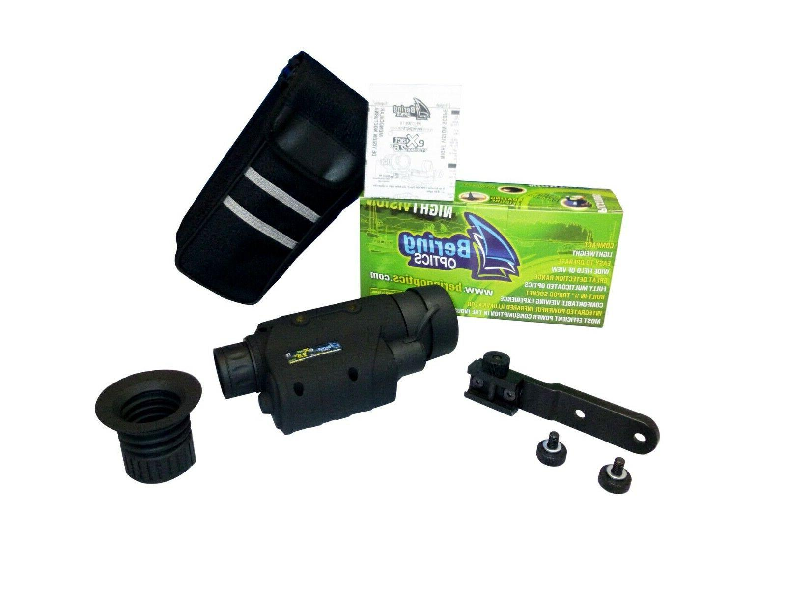 Bering Optics eXact 2.6x44 Gen. I Night Vision Monocular Kit