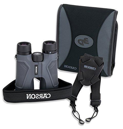 Carson® Series 10x50mm Binocular High Optics