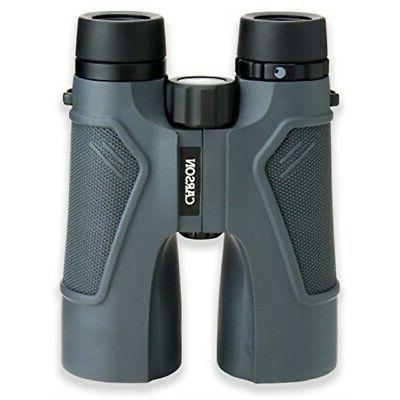 Carson® 3D Series 10x50mm Binocular with High Definition Op