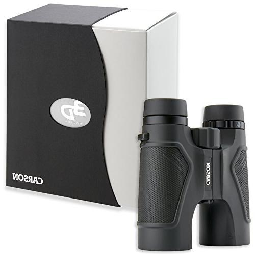 Carson 3D Series Definition Binoculars with Glass,