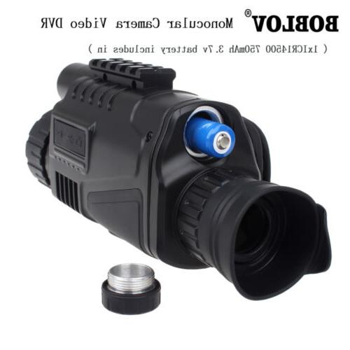 5x40 Infrared Night Vision Monocular Telescope For Wild Hunt