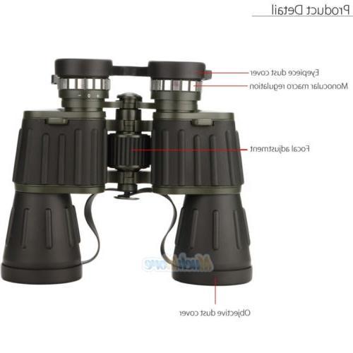 Day/Night Vision 60x50mm Zoom Powerful Binoculars