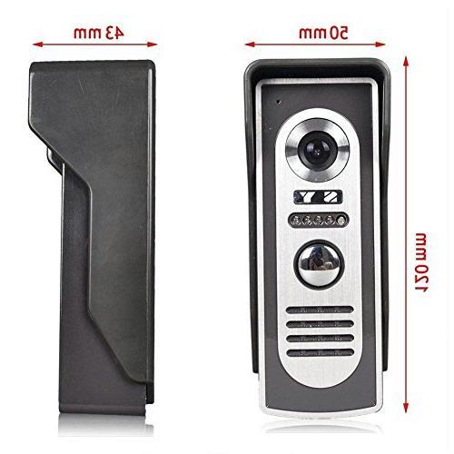 Ennio Inch Door Phone Doorbell Kit Vision
