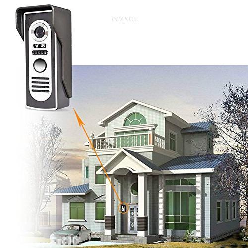 Ennio 7 Door Phone Kit 1-camera 2-monitor Night Vision