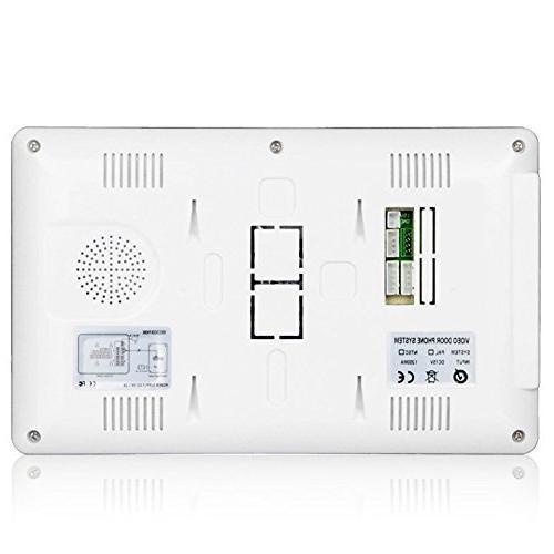 Ennio 7 Inch Door Kit 1-camera 2-monitor Night Vision