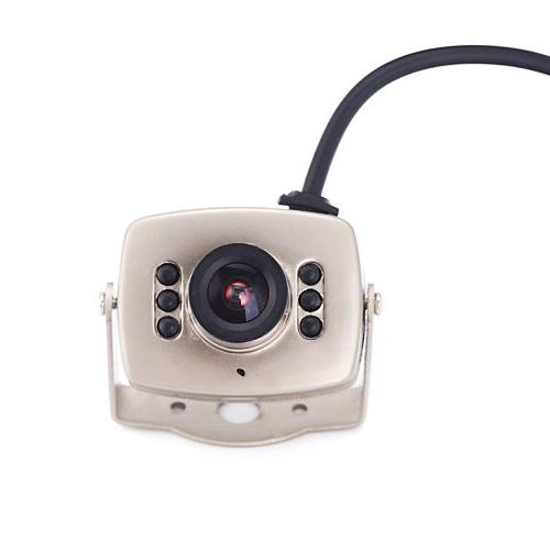 HDE Wired CCTV Camera Vision Hidden Pinhole