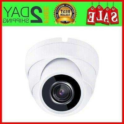 WDR Grey USA HD TVI 1080P Dome Camera 2.4MP CMOS Varifocal 2.8-12mm 36 IR