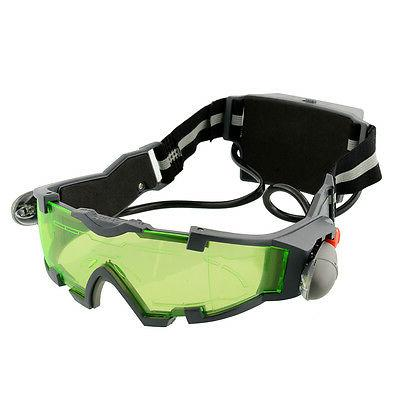 LED Night Vision Goggles Eye shield eye protector view
