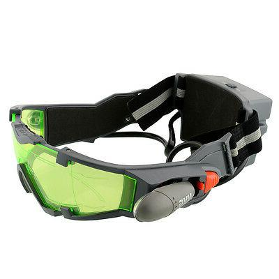 LED Vision Goggles Eye Lens eye protector view Glasses