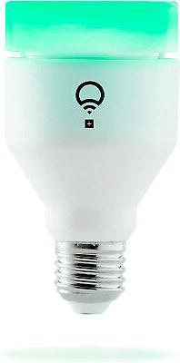 Lifx - Lifx + A19 Wi-fi Led Smartbulb - Multicolor And Infra