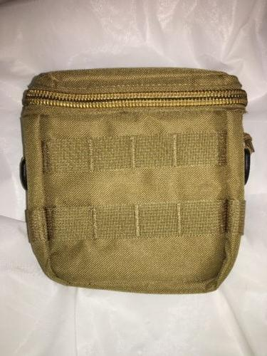 MOLLE Soft Padded Pouch, 5 x 6 *** Coyote