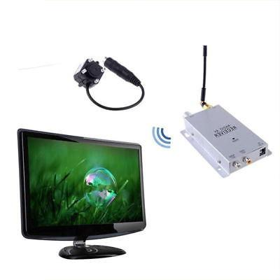 Mini Wireless Night Vision Hidden Cam Spy Pinhole Nanny TV S