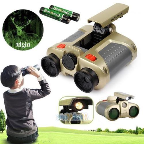 Night Vision Surveillance Scope Binoculars Telescope Pop-Up