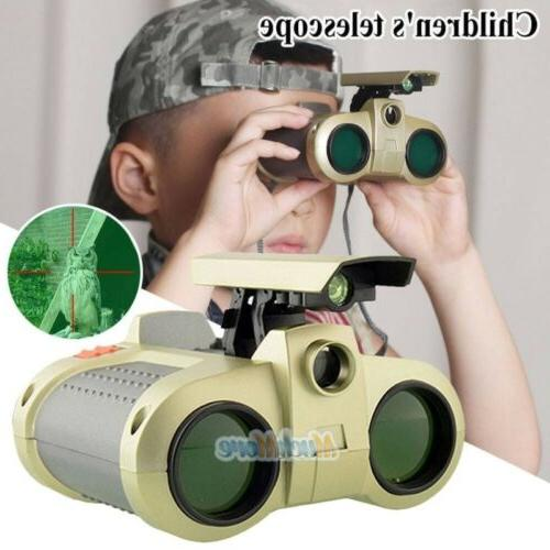 Night Surveillance Binoculars Pop-Up Light Xmas Kids
