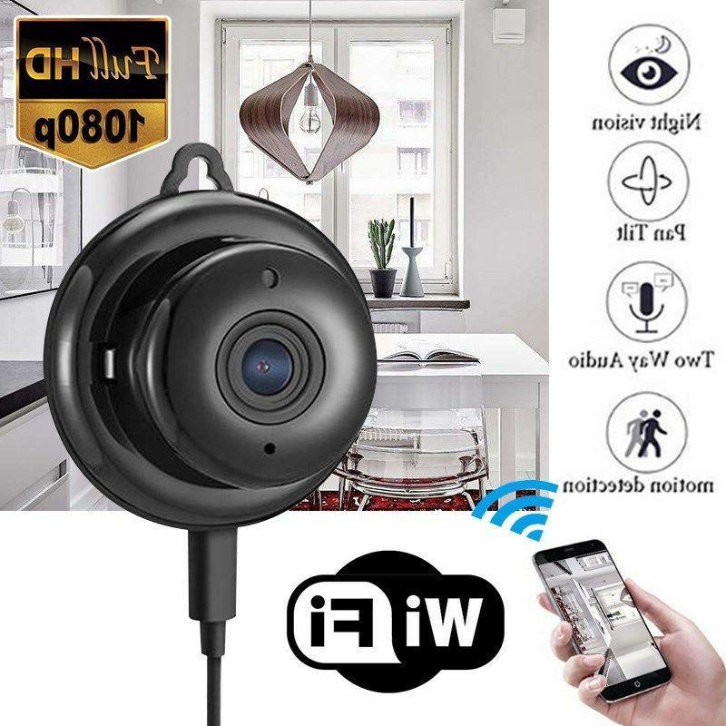 Night Vision Wireless Mini WIFI IP Camera HD 1080P Smart Hom